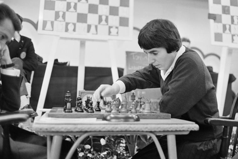 Image: Chess Champion Nona Gaprindashvili