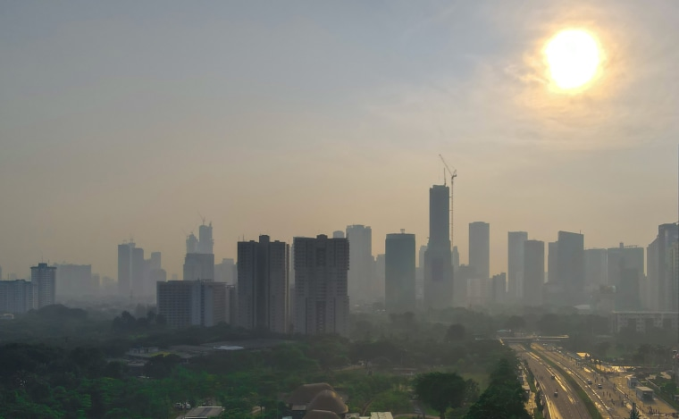 Image: Smog in Jakarta