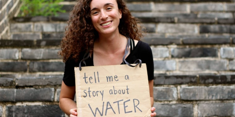 """Devi Lockwood is the author of the new book """"1,001 Voices on Climate Change."""""""