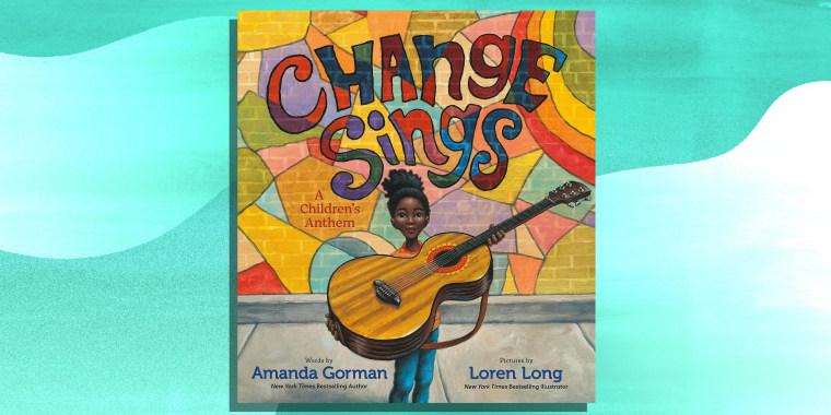 Image of Amanda Gorman's new book Change sings