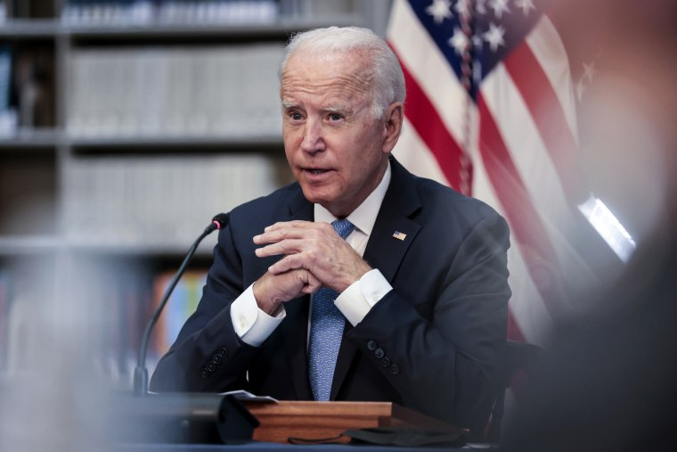 President Biden Holds Meeting With Business Leaders And CEOs On Covid-19 Response