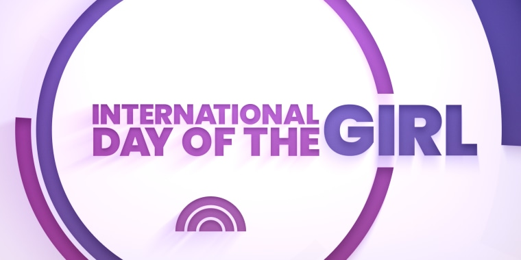 Graphic that reads international day of the girl