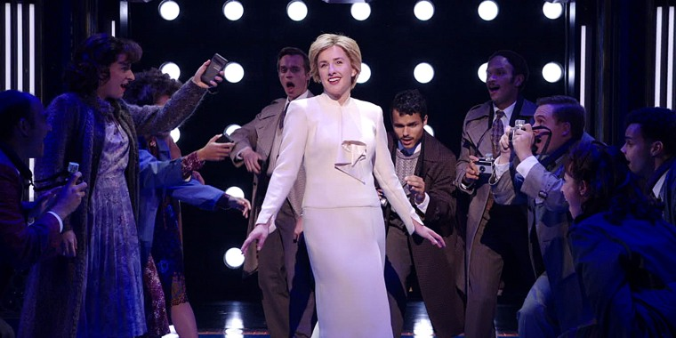 """""""Diana: The Musical"""" star Jeanna de Waal opened up about what it was like playing Princess Diana."""