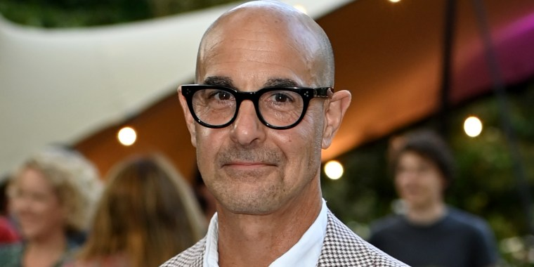 Stanley Tucci attends the Women's Prize For Fiction Awards 2021 at Bedford Square Gardens on September 08, 2021.