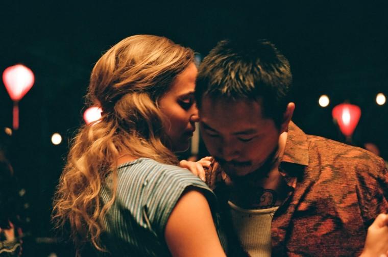 """Alicia Vikander and Justin Chon in \""""Blue Bayou.\"""""""