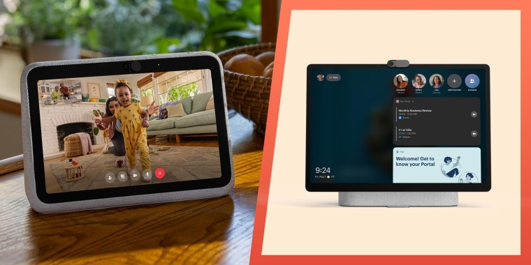 Image of the Facebook Portal+