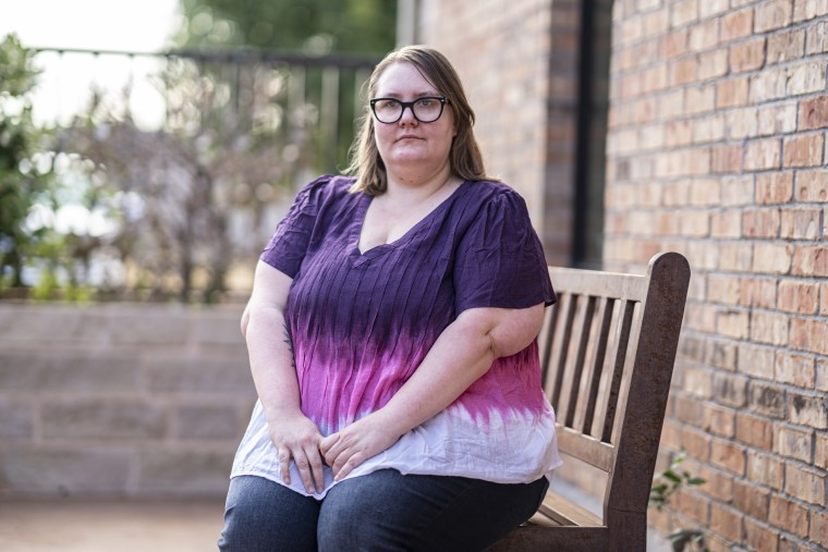 Valerie Araujo works at the Noah Project, a domestic violence shelter with a crisis line in Abilene, Texas. She used to get maybe two or three life-threatening calls a week, but when the pandemic started, the urgent calls came every day.
