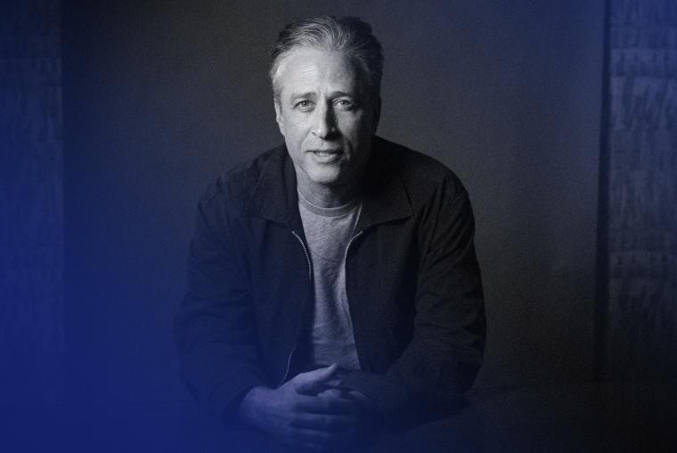 IMage: Jon Stewart in New York in 2014.