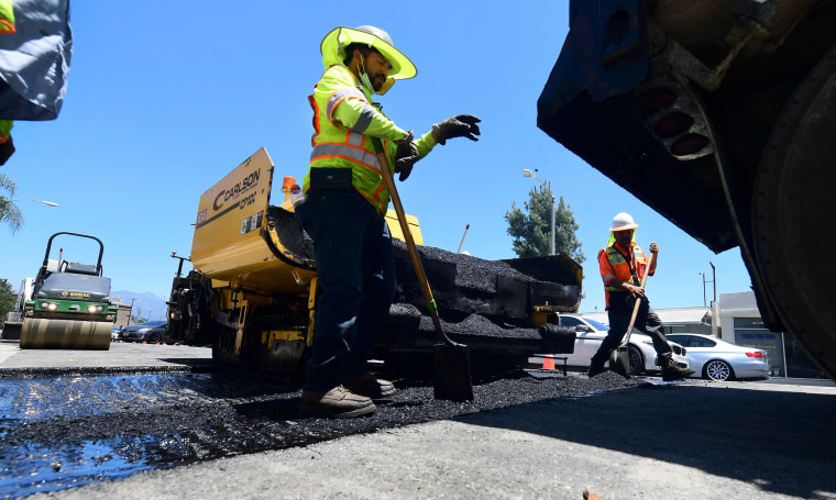 Image: road resurfacing
