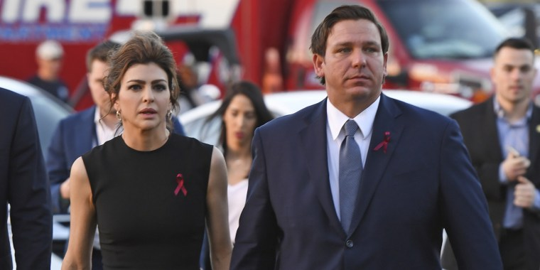 Gov Ron Desantis' Wife Diagnosed with Breast Cance