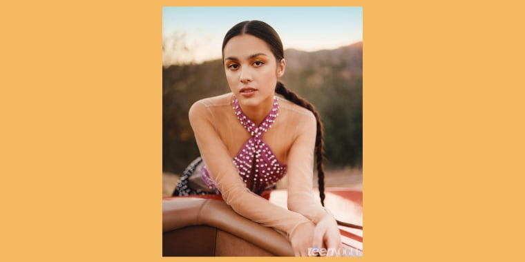 Olivia Rodrigo is Teen Vogue's latest cover girl and she's using her platform to talk about some important topics, like the way Hollywood often pits women against each other.