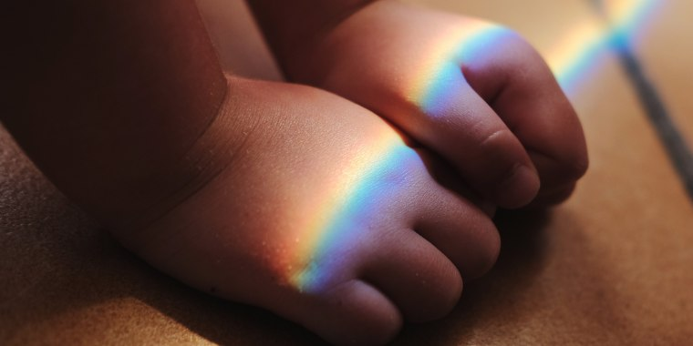 Rainbow baby is a term used to describe children born after a miscarriage, stillbirth or neonatal death, like light at the end of storm.