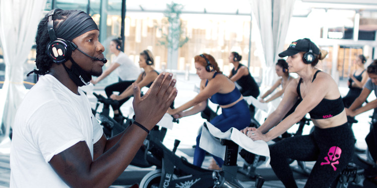 While Trammell Logan is now back on the bike at SoulCycle, he said it took him a lot of time to feel ready enough to be leading classes again.
