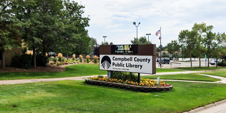 Campbell County Public Library in Wyoming.