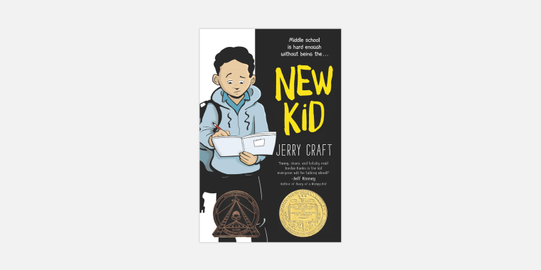 """Jerry Craft's graphic novel \""""New Kid.\"""""""
