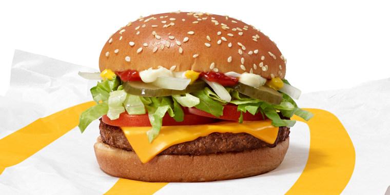 McDonald's McPlant burger