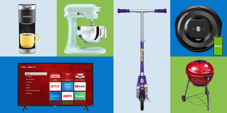 Illustration of 6 products on sale for Targets Deals Day