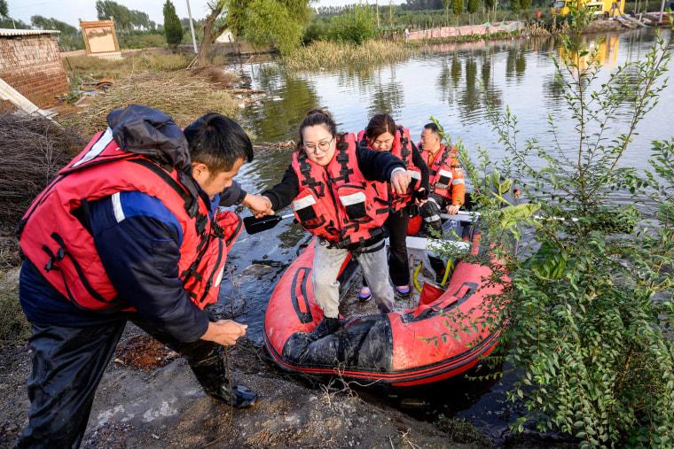 Image: CHINA-WEATHER-FLOOD