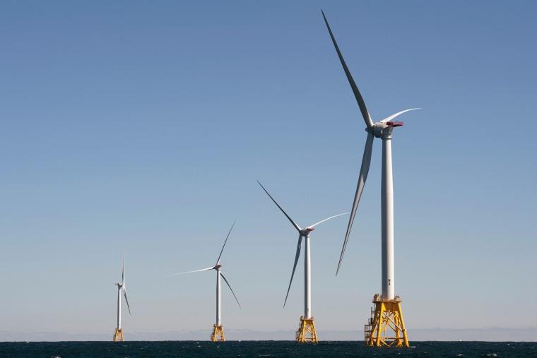 Image: Wind Turbines at Block Island, Rhode Island