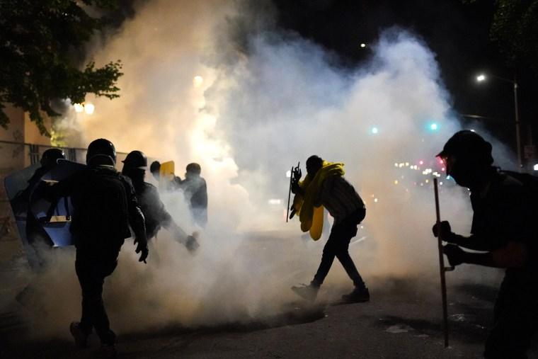 Image: Tear Gas