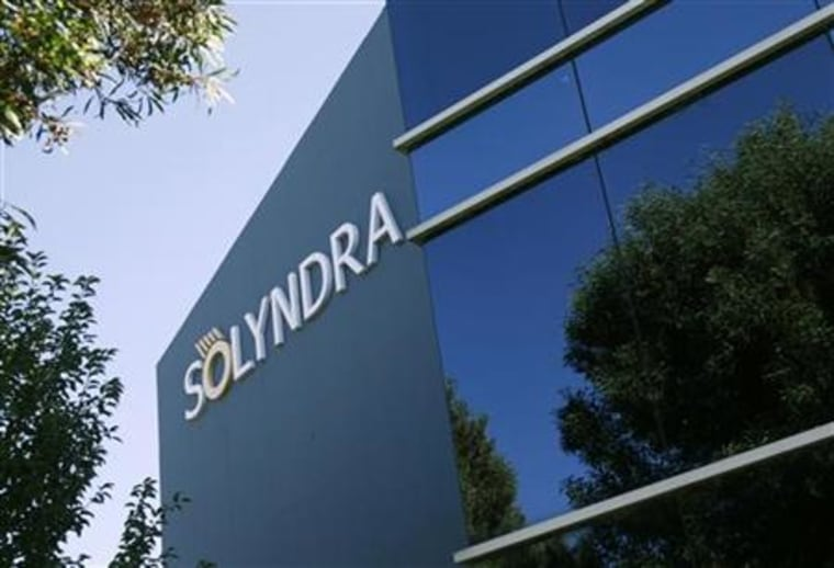 The headquarters of bankrupt Solyndra LLC is shown in Fremont