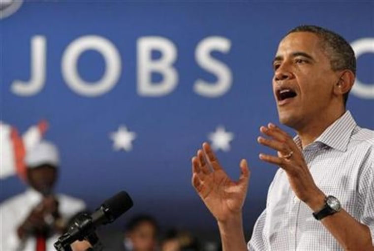 President Barack Obama speaks at Greenville County High School in Emporia