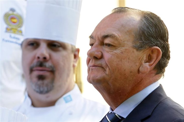 Chefs of world leaders swap recipes for diplomacy for Bragard paris