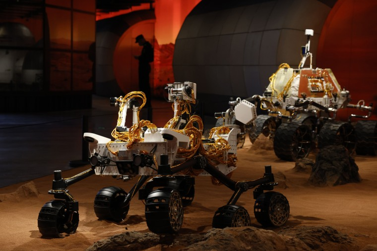 Image: China Mars rover