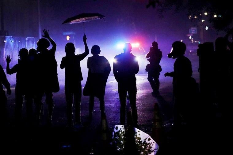 Image: Portland Protests Continue Unabated Despite Federal Law Enforcement Presence