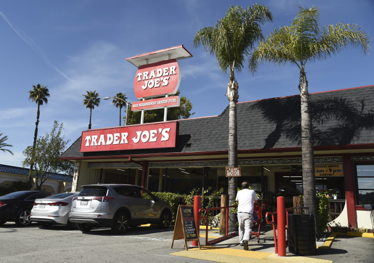 The original Trader Joe's grocery store in Pasadena, California.