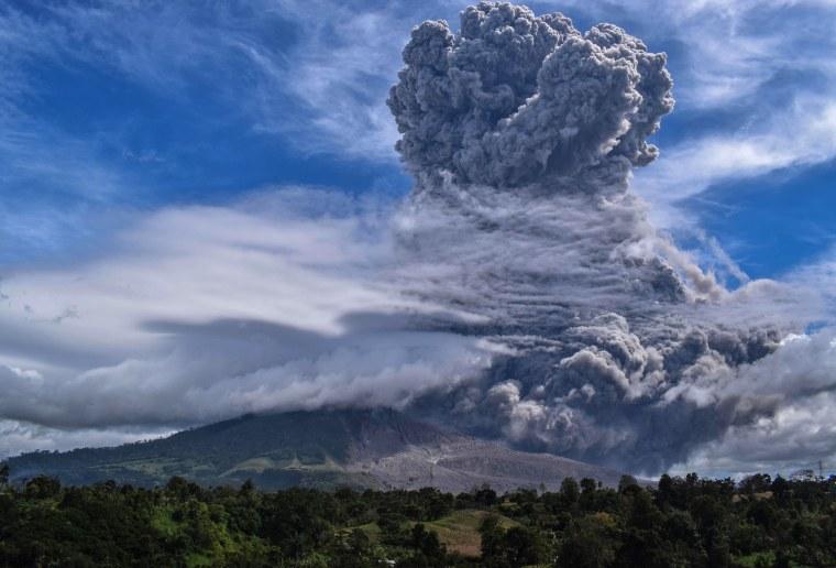 Image: INDONESIA-VOLCANO