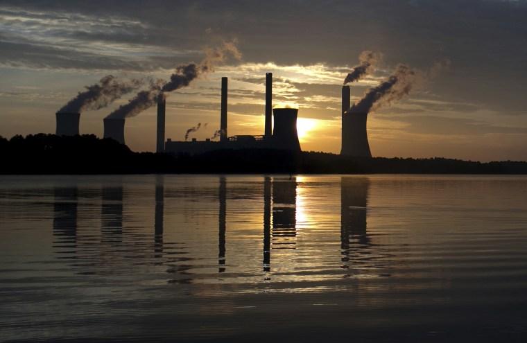 Georgia Power's coal-fired Plant Scherer