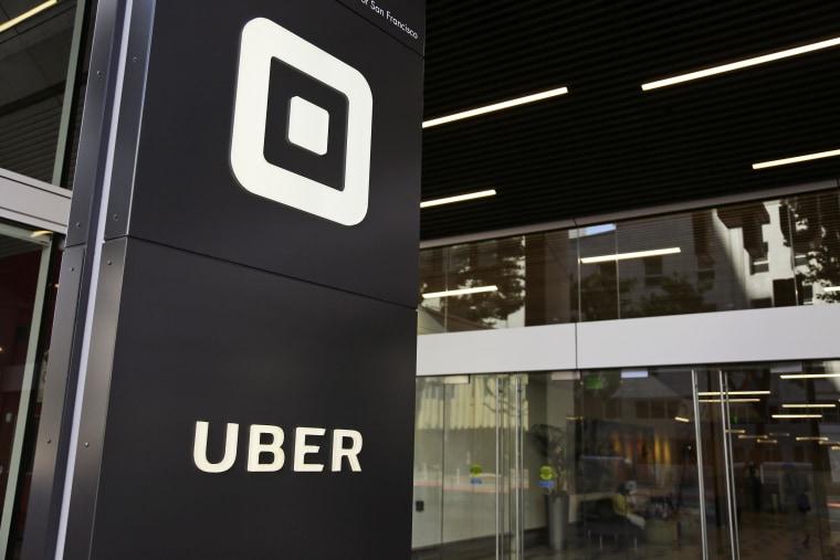 Uber's headquarters in San Francisco on June 21, 2017.