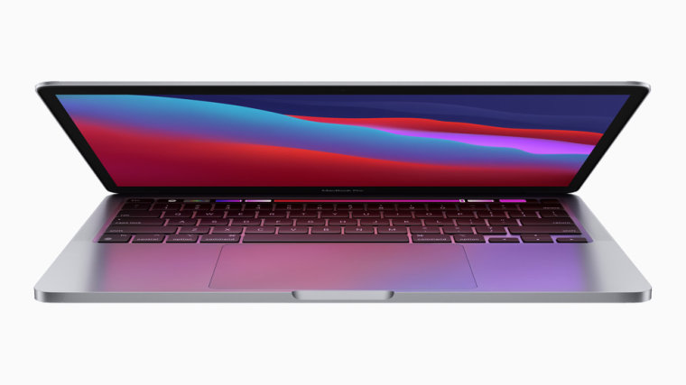 The 13-inch MacBook Pro with M1.