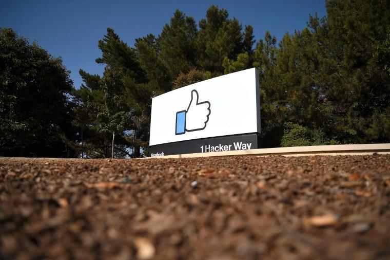 Image: Facebook's corporate headquarters