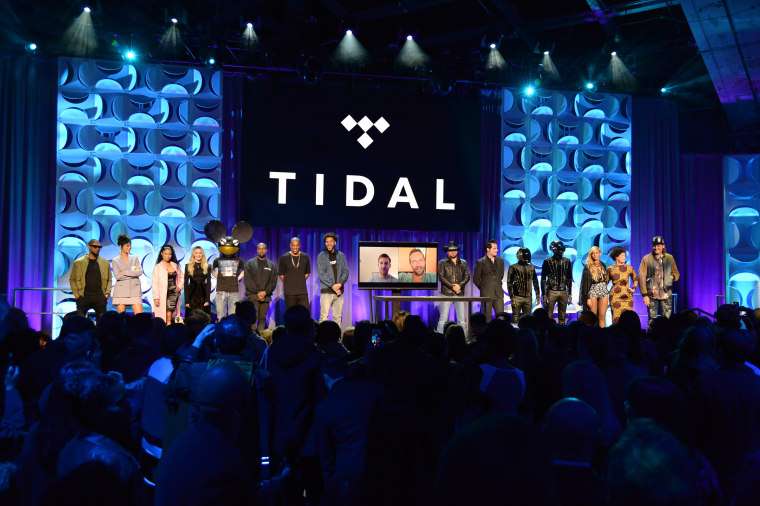 Image: Tidal Launch Event NYC