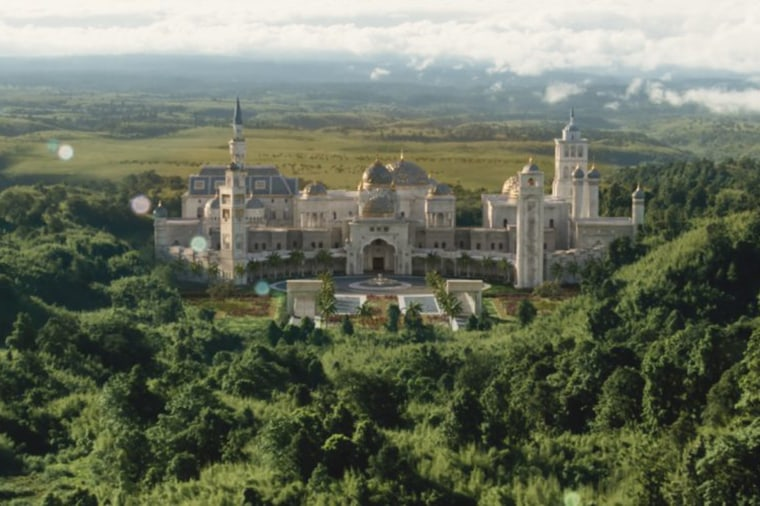 Prince Akeem's Zamunda palace in the Amazon Prime movie Coming 2 America is in fact modelled on Rick Ross' real life Ga, home.