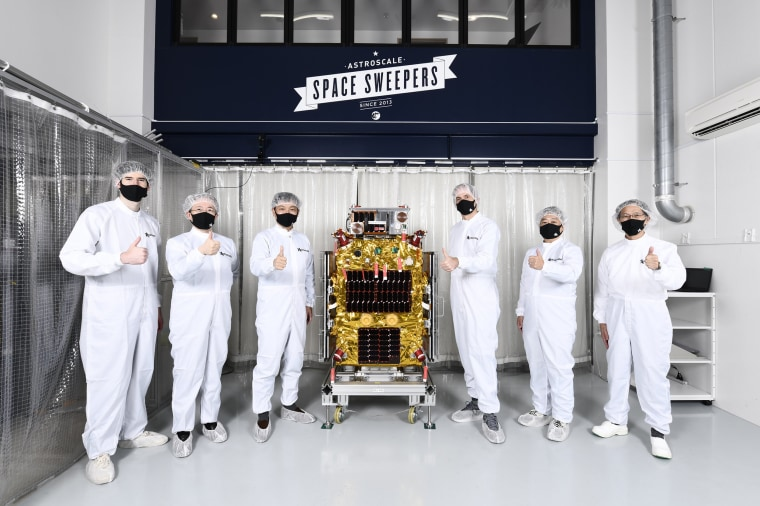 The ELSA-d satellite will launch Saturday on the world's first commercial mission to test technologies for cleaning up space debris in orbit around Earth.