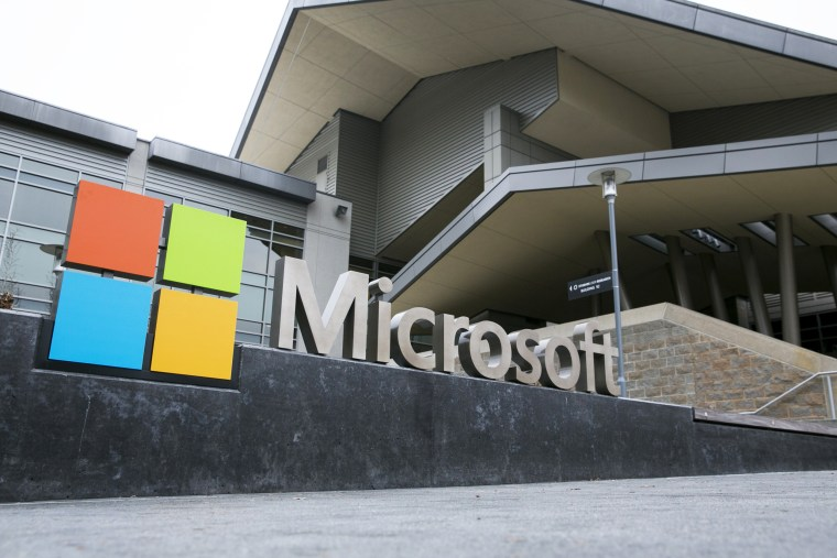 Microsoft's headquarters in Redmond, Wash., on Jan. 2, 2015.