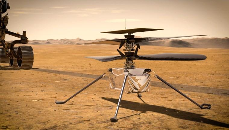 Imazh: Helikopter Marsi i zgjuarsisë