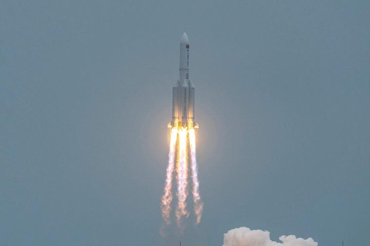 Image: Long March 5B rocket