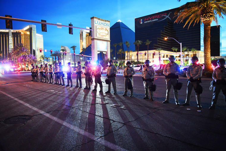 Protests Continue In Las Vegas Over Recent Police Shootings