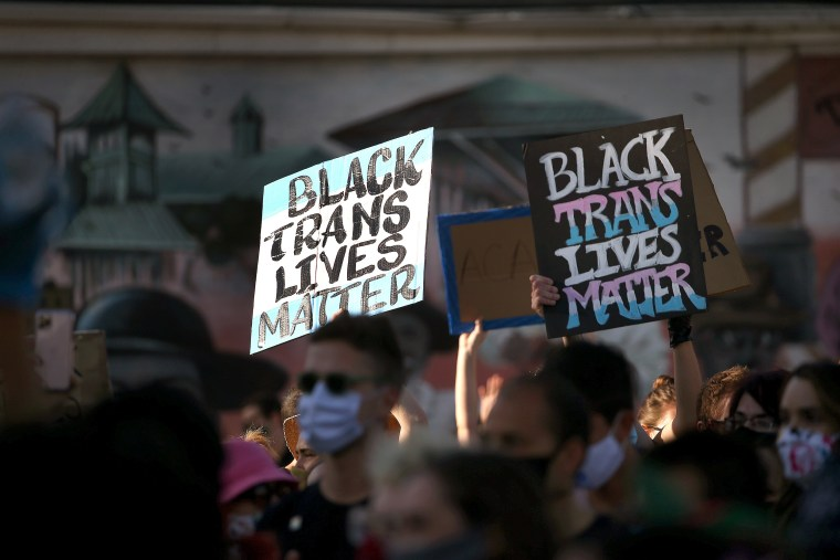 Thousands March For Trans Lives