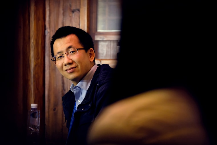 Image: Bytedance CEO Zhang Yiming
