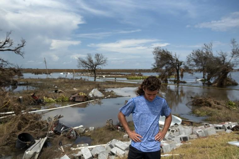 Image: Hurricane Laura Damage In Louisiana