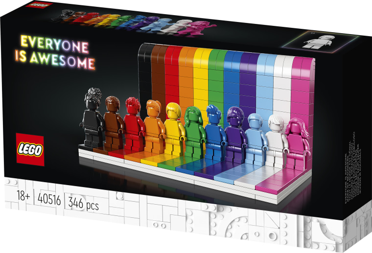 """The LEGO Group today announced LEGO Everyone is Awesome, """"a set designed to celebrate the diversity of our fans and the world around us."""""""