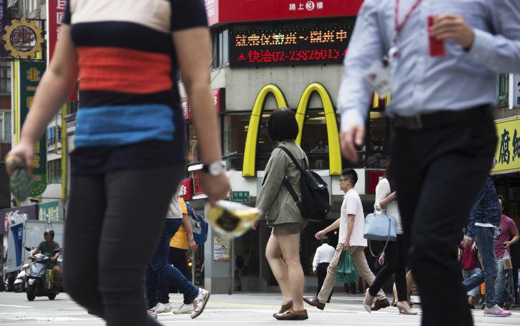 Image: McDonald's in Taiwan