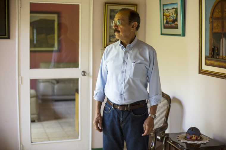 Image: Retired Sandinista Gen. Hugo Torres at his home, in Managua, Nicaragua, on May 2, 2018.
