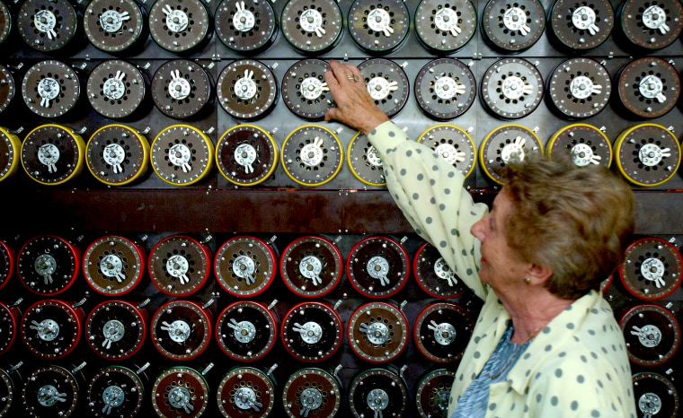 Enigma relives secret past