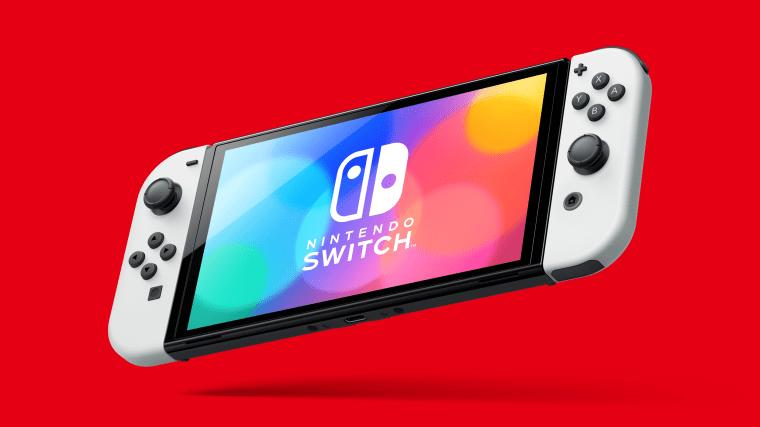 Image: Nintendo Switch OLED model